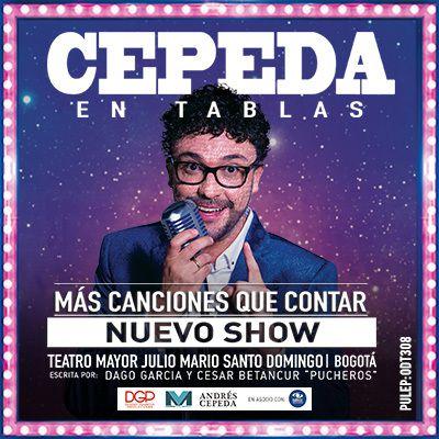 Andres Cepeda en Tablas 2019