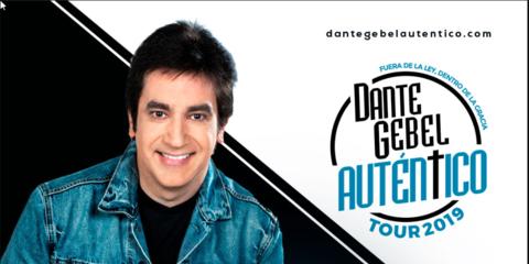 Dante Gebel con Auténtico Tour 2019 en Medellín