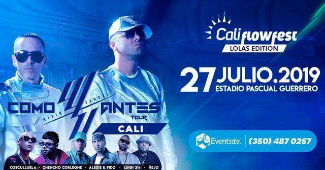 Wisin y Yandel en Cali 2019