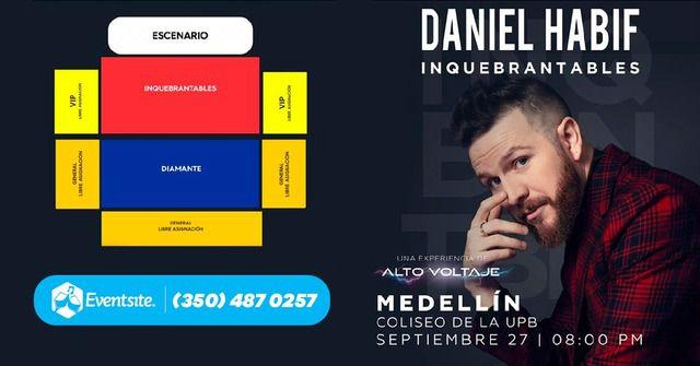 Daniel Habif inquebrantables 2019