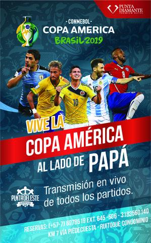 Transmisión Copa América
