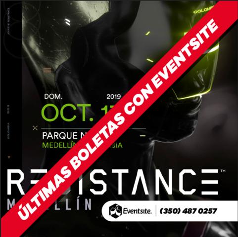 Resistance Medellín 2019