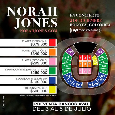 Norah Jones en concierto