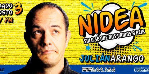 Ni Idea con Julián Arango