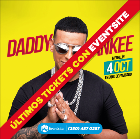 Daddy Yankee en Medellín