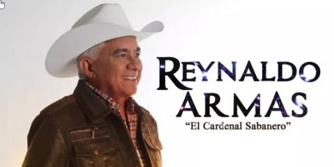 Reynaldo armas con arpa y capachos