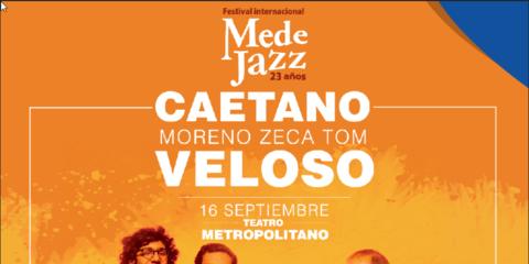 Caetano Veloso por primera vez en Medellìn