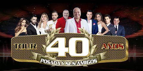 Tour 40 Años Posada Y Sus Amigos Medellín