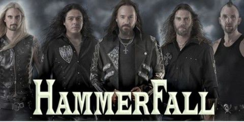 HammerFall en concierto