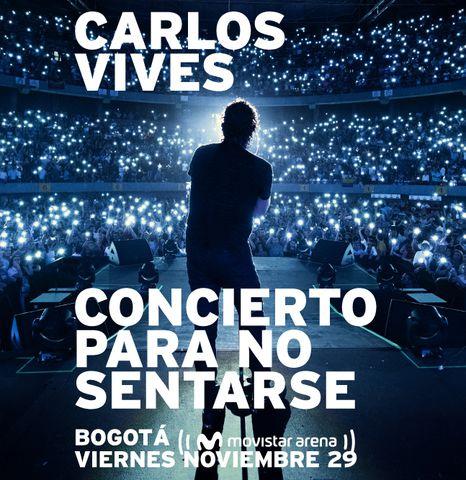 Carlos Vives en 'Concierto Para No Sentarse'