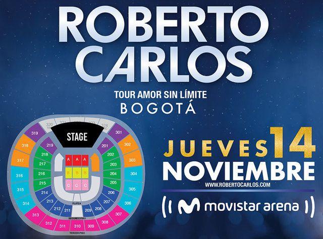 Roberto Carlos - Tour Amor Sin Límites