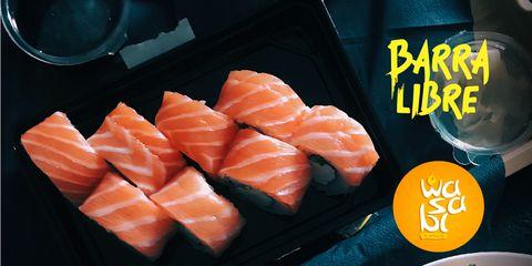 Barra Libre de Sushi en Wasabi