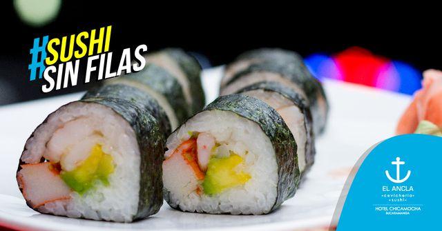 ¡Sushi sin Fila!