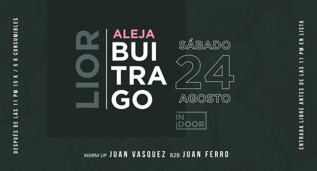 Aleja Buitrago // Lior en Indoor Club