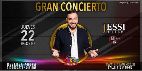 Jessi Uribe en Concierto
