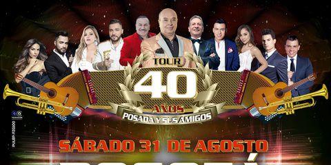 Tour 40 años Posada y Sus Amigos