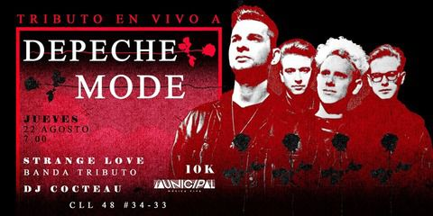 Tributo en vivo a Depeche Mode - Strange Love