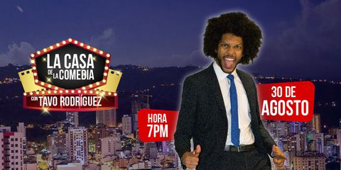 La Casa de la Comedia con Tavo Rodríguez