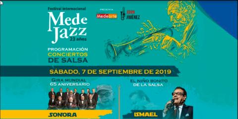 Medejazz 2019: Conciertos de Salsa