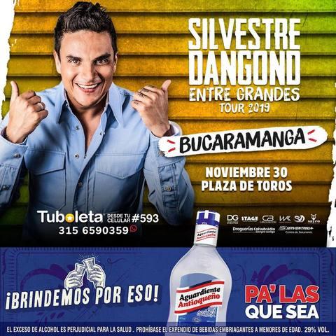 Silvestre Dangond en Bucaramanga
