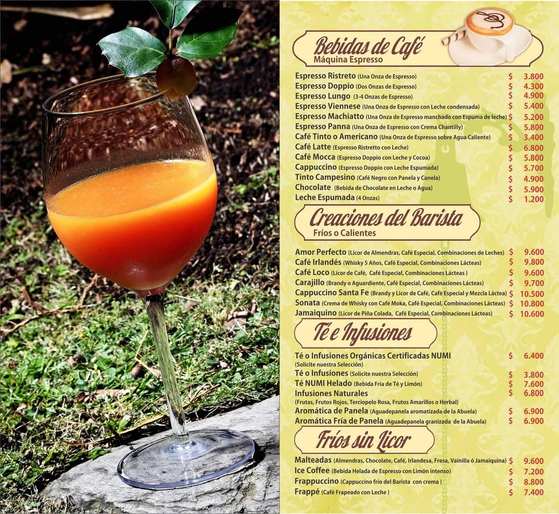 SANTA FE CAFÉ Y RESTAURANTE
