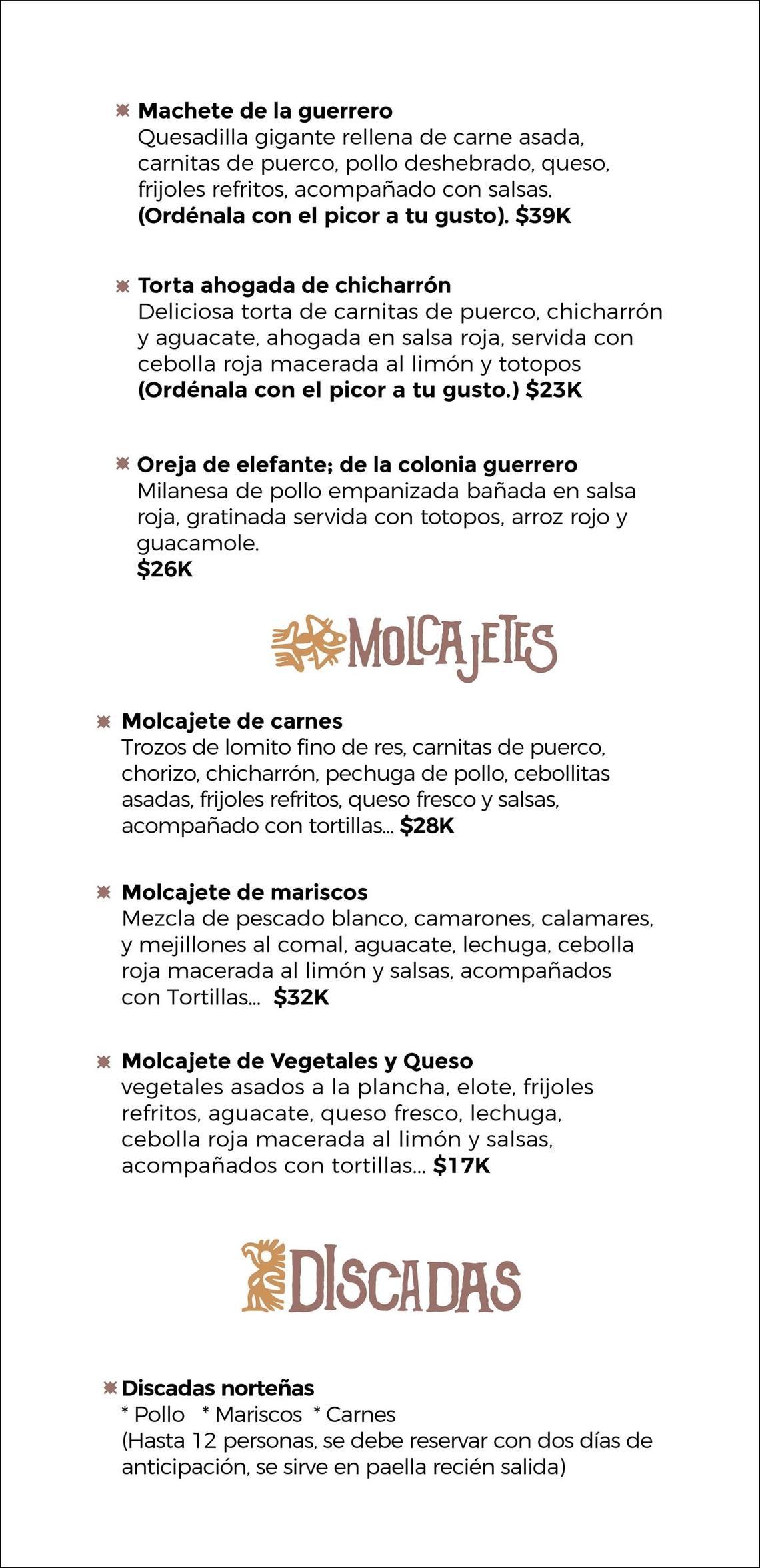 Cholula cocina Mexicana